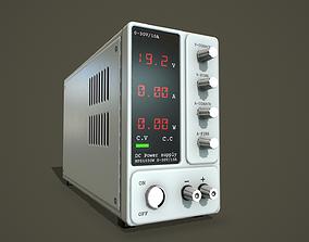 3D asset Laboratory transformer PBR