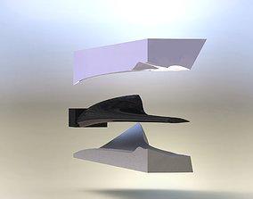 Wind turbine blade 8 mould asm 3D