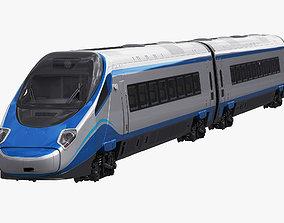 Train ETR610 Pendolino 3D model