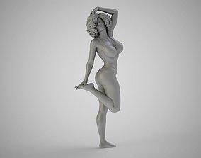 Beach Girl 3D print model