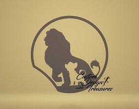 King Lion 3D Mouse Ear