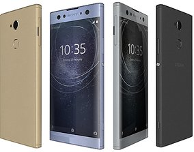 Sony Xperia XA2 Ultra All Colors 3D model