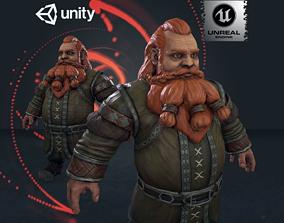 Forest Dwarf 3D model