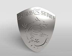 MSI Logo 03 - 4K Texture 3D model
