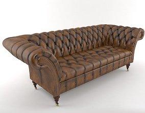 3D model chesterfield sofa
