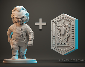 sculpt CHUCKY 3d printable
