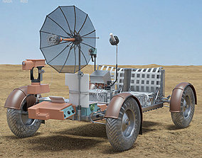3D Apollo 15 Lunar Roving Vehicle