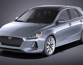 3D Hyundai Elantra GT 2018