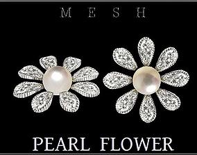 3D model Pearl Flower