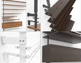 3D model Cattelan Italia Airport elements for assembling 2
