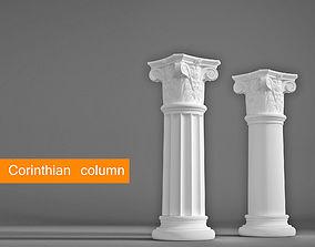 3D Corinthian column