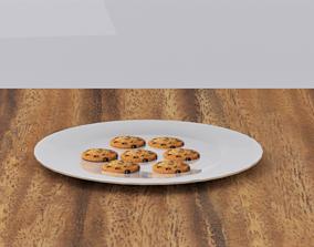 Cookies 3D model realtime