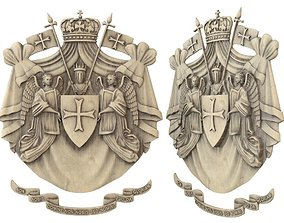 Templar emblem 3D printable model