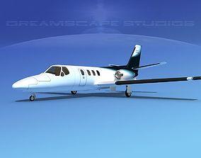 Cessna 500 Citation I V13 3D model