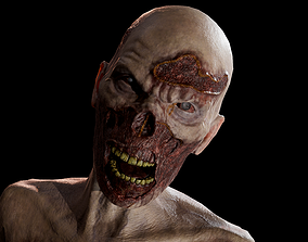 3D model Zombie GameReady