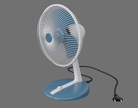 Table Fan 1A 3D model