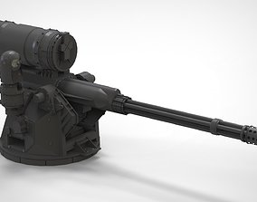 turret 2 heavymachinegun 3D model