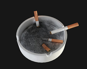 Ashtray 3D asset