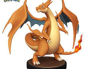 Pokemon Charizard Y - 3D Printable Figure - Toy