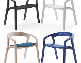 She Said Lowide Chair 3D model