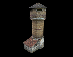 watch 3D model realtime Watch Tower