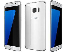 Samsung Galaxy S7 Edge White 3D model