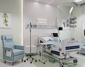 Medical Patient Room 3D