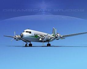 3D model Douglas DC-7B Corporate 2