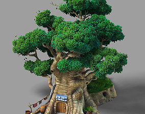 Game Plant - Tree House - Building 03 3D model