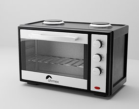 electric oven 3D