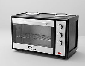 3D grill electric oven