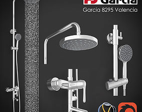 Shower column Garcia 8295 3D model