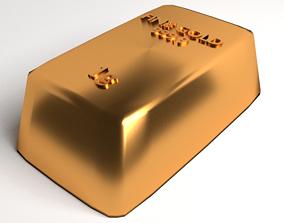 3D Goldbar 1gram