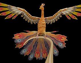 3D asset Firebird