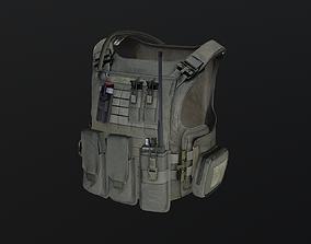 3D model realtime Tactical vest