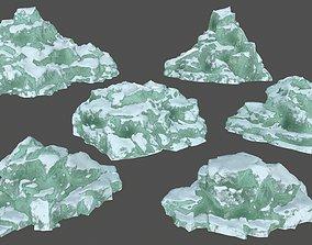 3D asset icebergs