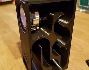 3D print model Transmission Line speaker