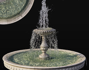 Classic Fountain - vray and corona 3D