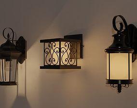Outdoor Lamp Pack 3D model