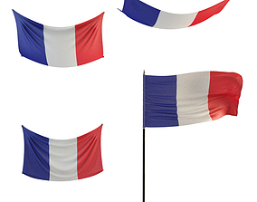 Country Flags 3D model