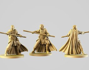 The monk 3D print model stick