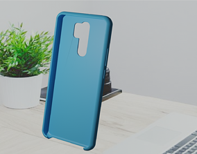 Xiaomi Redmi 9 TPU case 3D print model