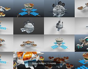 Space Stations 3D