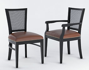 3D model Seven Sedie Minus Chair 3530A 3530S