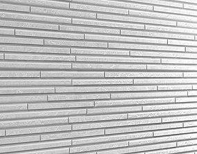 Seamless Stone Wall 2 3D model