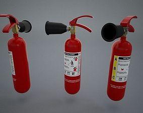 firefight Fire Extinguisher 3D Model
