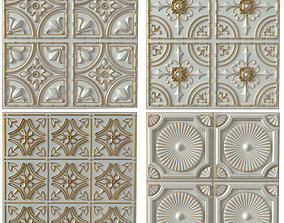 Decorative panels - Set 1 3D model