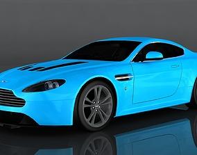 Aston Martin V12 Vantage 3D asset