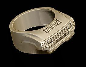 cabrio car ring 24 3D print model