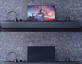 3D model SONY A1 OLED 4K Ultra HD and STAND